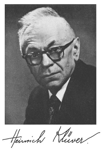 Heinrich Klüver